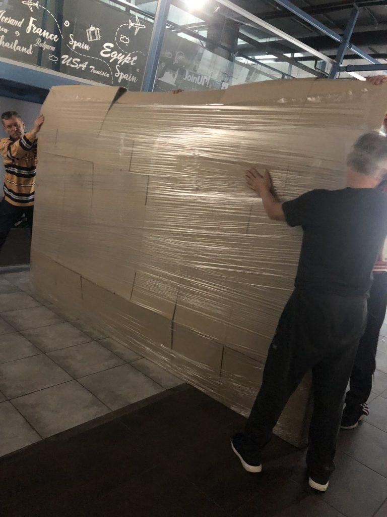 Офисный переезд - упаковка